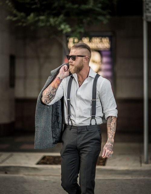 Bretelles homme habillées