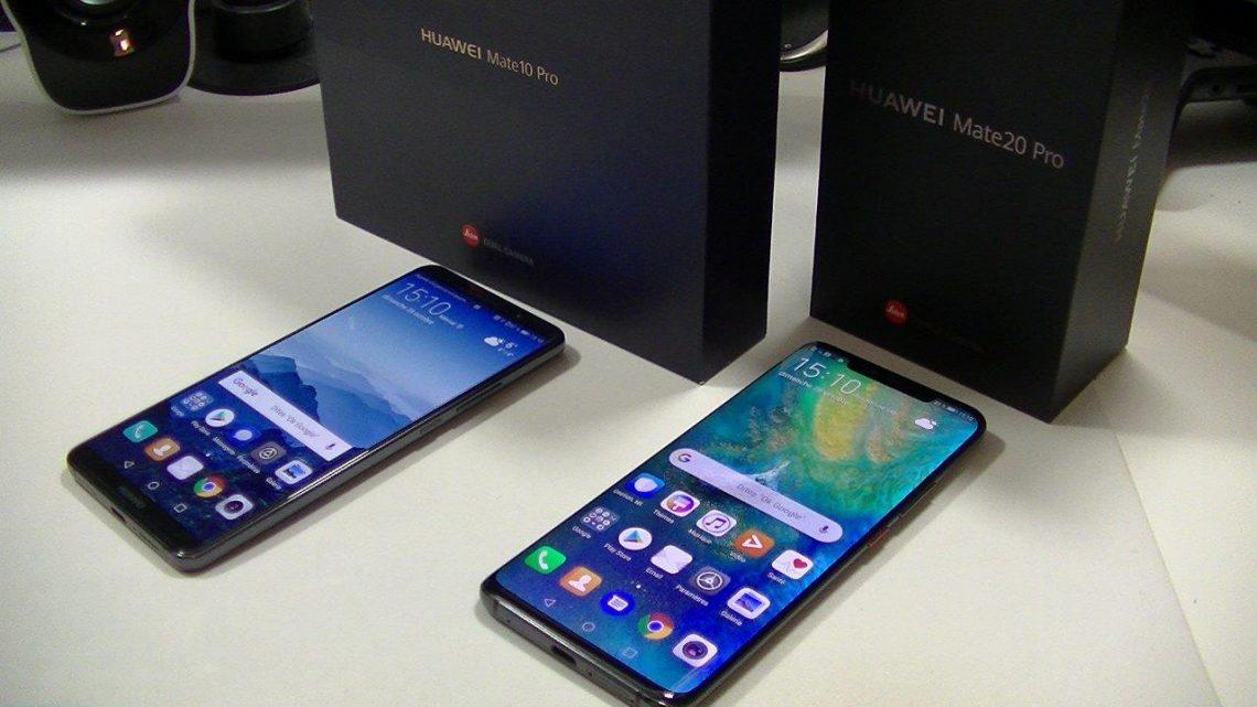 Système d'exploitation du Huawei Mate 20 Pro