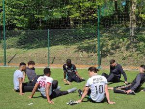 les jeunes du CEF rencontre les jeunes du CEF pour des échanges sportifs et éducatifs